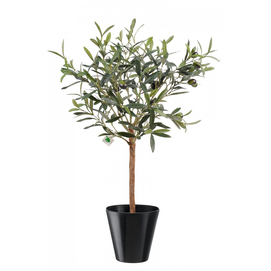 Olivier artificiel plant en pot 35cm arbres mediterraneens oliviers artificiels factice - Entretien olivier en pot ...