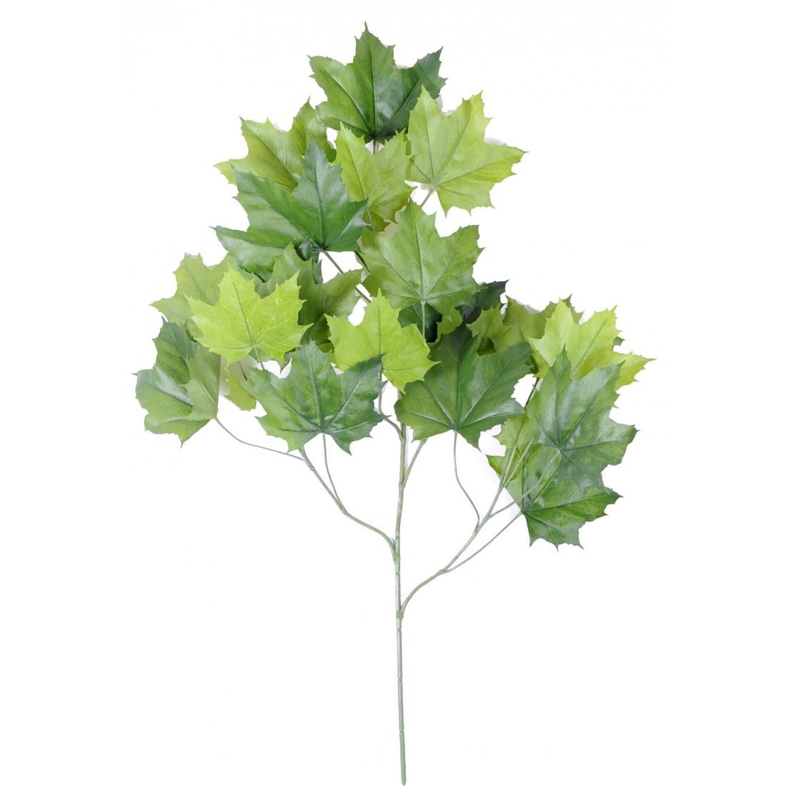 branche artificielle platane 79 cm autres arbres reflets nature lyon. Black Bedroom Furniture Sets. Home Design Ideas