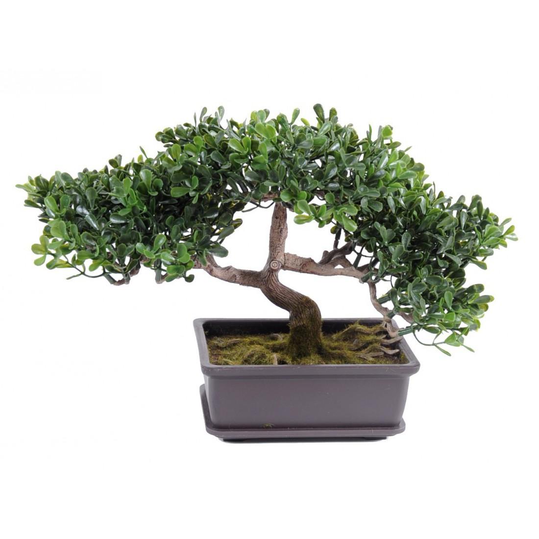 Mini bonsaï artificiel pour réaliser un terrarium