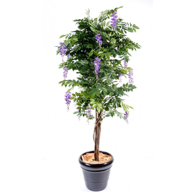 GLYCINE artificielle LIANES  new de 110 à 180 cm