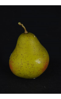 POIRE artificielle 8 cm touché naturel