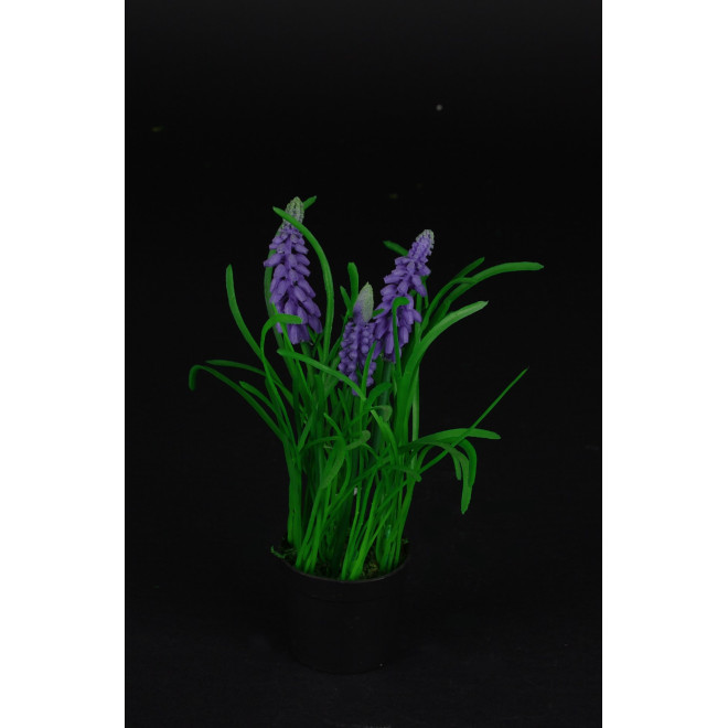 MUSCARI artificiel plante 20 cm