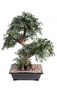 BONSAI artificiel SAULE noire ou BLACK WILLOW 70 cm