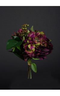 bouquet HORTENSIA artificiel 33 cm