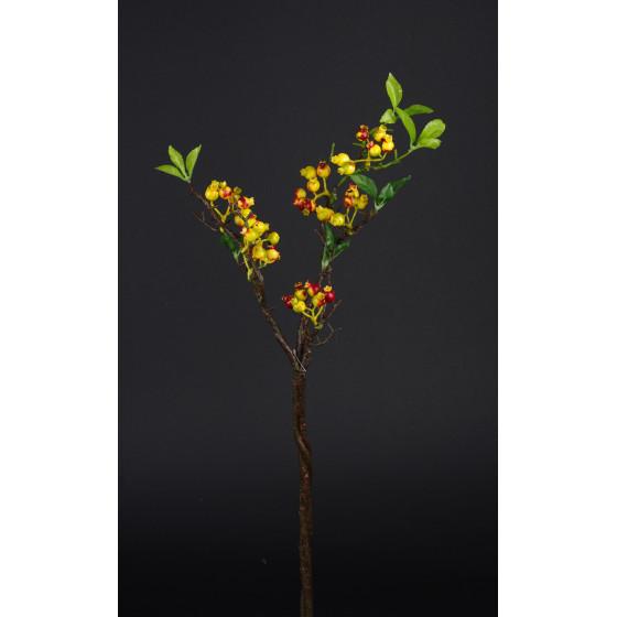 branche BAIES 70 cm orange