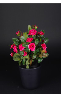 ROSIER artificiel piquet  35 cm