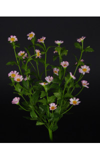 DAISY mini artificielle 38 cm rose