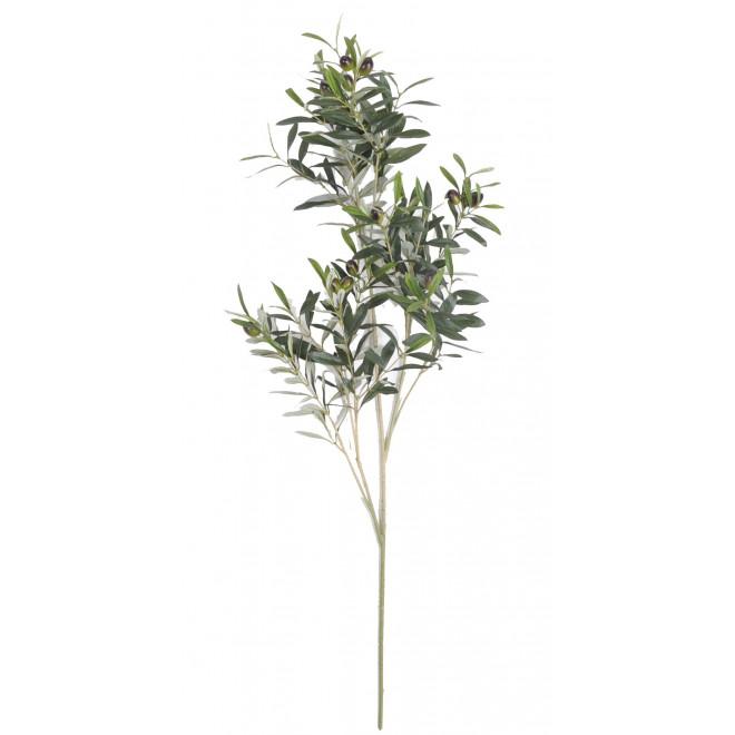 branche OLIVIER artificiel NATUREL 109 cm