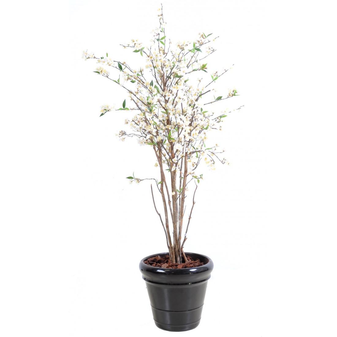 cerisier artificiel new en fleur 150 cm arbres fleuris reflets nature lyon. Black Bedroom Furniture Sets. Home Design Ideas