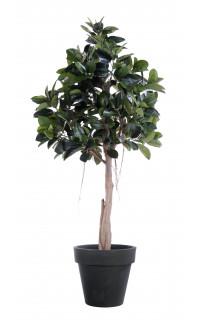 FICUS artificiel ELASTICA (Rubber plant tree) 220 cm