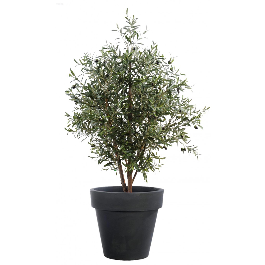 Olivier artificiel new buisson 140 et 170 cm oliviers for Buisson synthetique