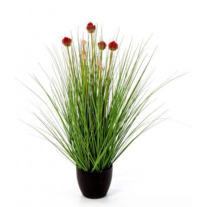 HERBE Allium artificielle 68 cm