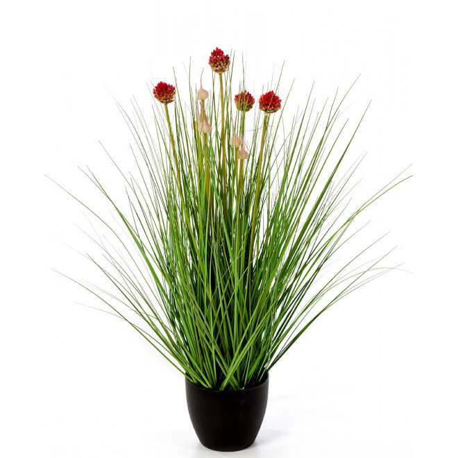 HERBE Allium artificielle 70 cm