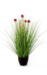 HERBE Allium artificielle 68 cm