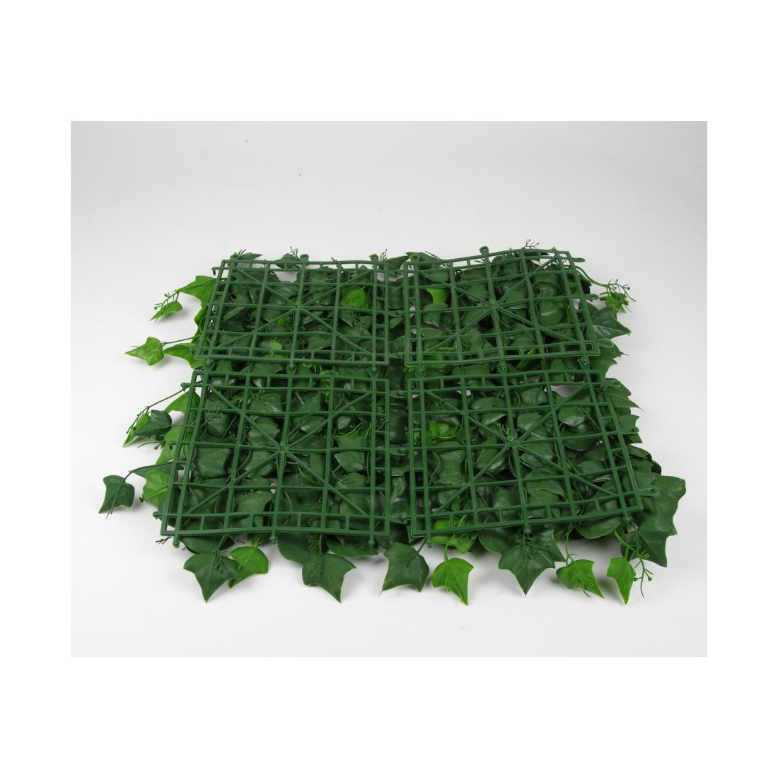 mur vegetal a 100 x 100 cm pour exterieur reflets nature lyon. Black Bedroom Furniture Sets. Home Design Ideas