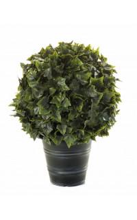 LIERRE artificiel BOULE en pot Diam 40 cm