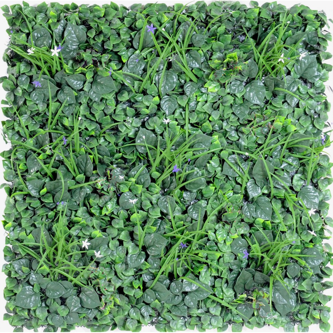 Mur vegetal d 100 x 100 cm plaques synth tique reflets for Mur vegetal exterieur synthetique