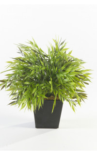 Herbe Bambou artificiel en pot 32 cm