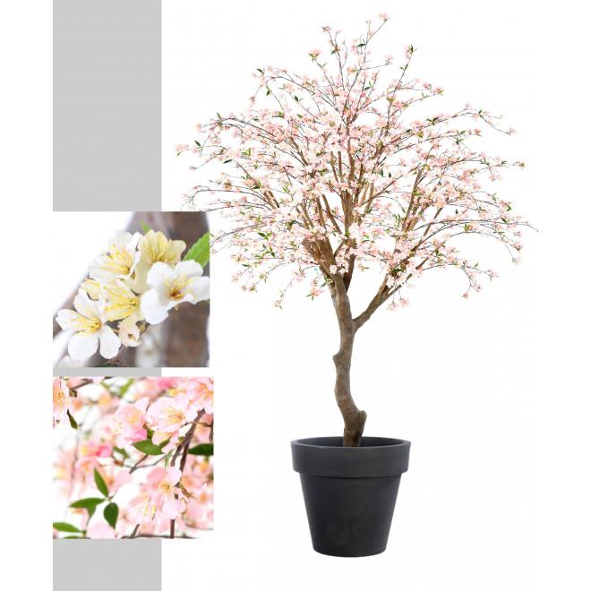 Cerisier en fleurs artificiel de 280 cm arbres fleuris for Arbre factice