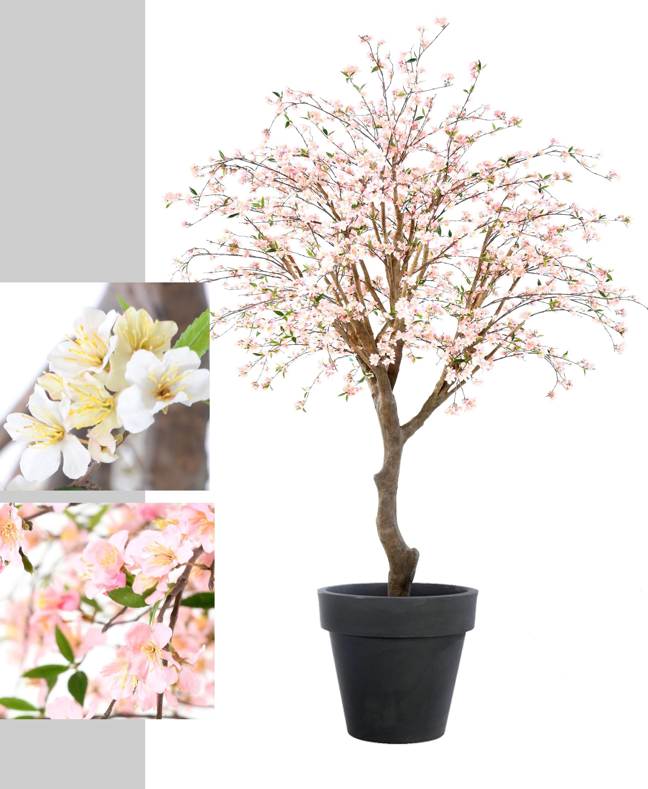 Cerisier En Fleurs Artificiel De 280 Cm Arbres Fleuris Artificiels