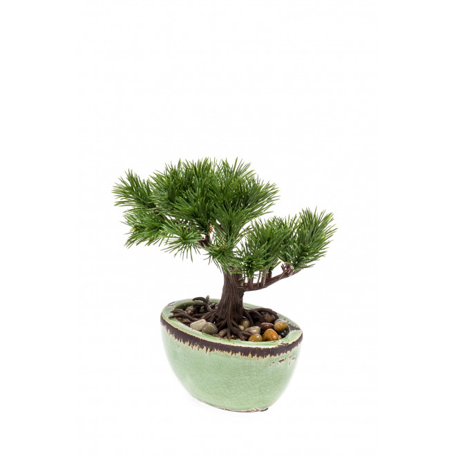 PIN BONSAI artificiel 18 cm