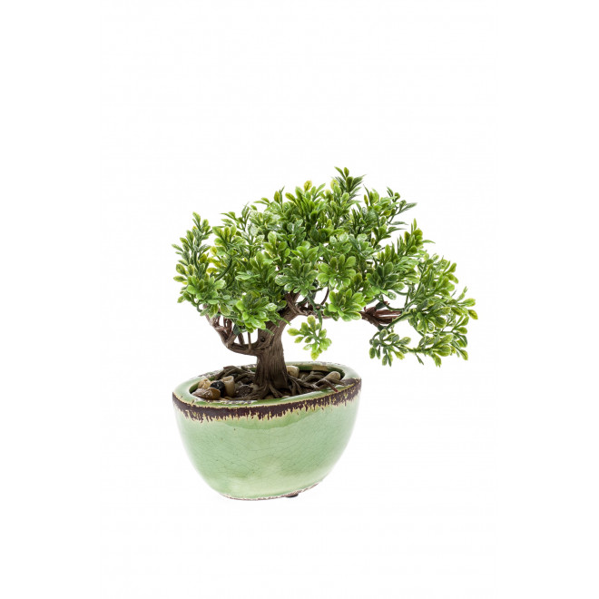 FICUS BONSAI artificiel 18 cm
