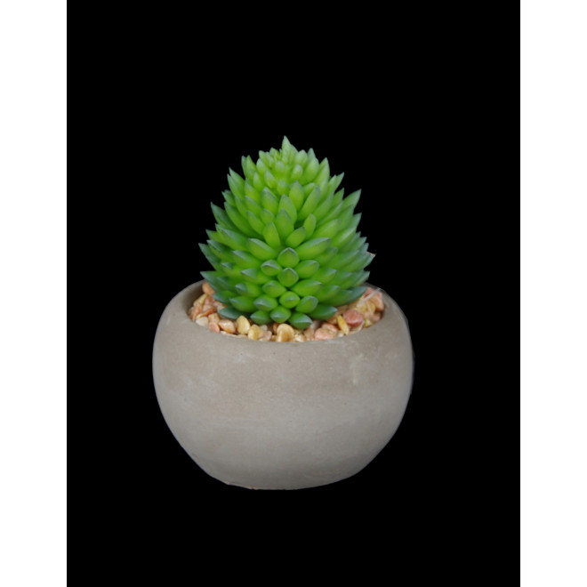 SUCCULENTES artificielles en pot 7 à 10 cm