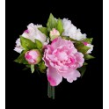 bouquet de PIVOINE artificielles 25 cm