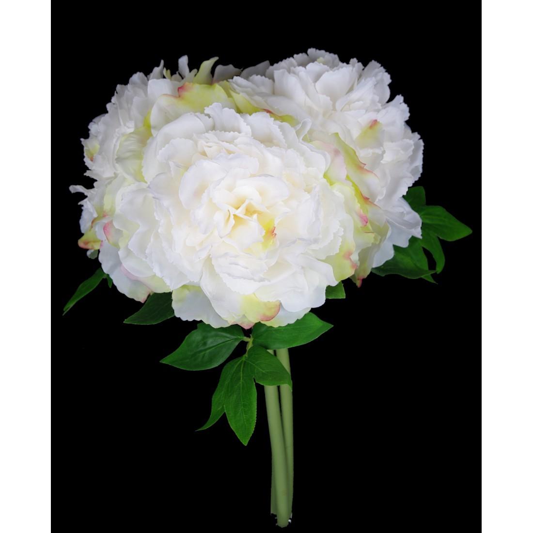 bouquet pivoine artificiel 38 cm bouquets et pots artificiels reflets nature lyon. Black Bedroom Furniture Sets. Home Design Ideas