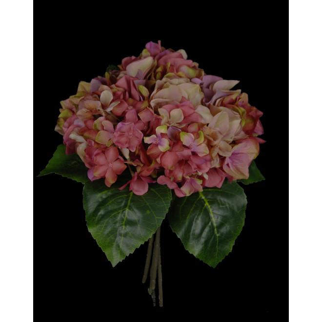 bouquet HORTENSIA artificiel  28cm