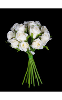 bouquet de ROSES artificielles 26cm