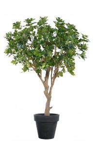 FIGUIER artificiel géant 240 cm (olive noire)