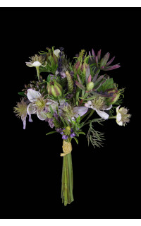 bouquet de lavande artificiels 33 cm