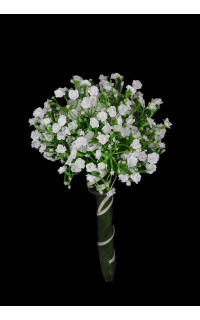 bouquet de gypsophile artificiels 25 cm