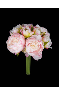 bouquet de PIVOINE artificielles 24 cm