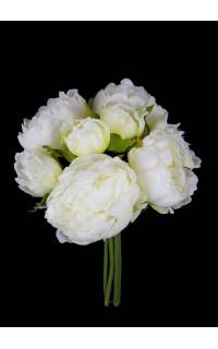 bouquet de PIVOINE artificielles 24 cm