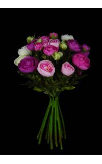 bouquet artificiel RENONCULE 34 cm