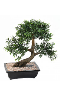 BONSAI artificiel SAULE noire ou BLACK WILLOW 50 cm