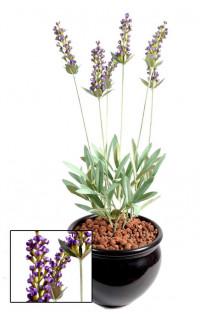 LAVANDE artificielle plante 52 cm