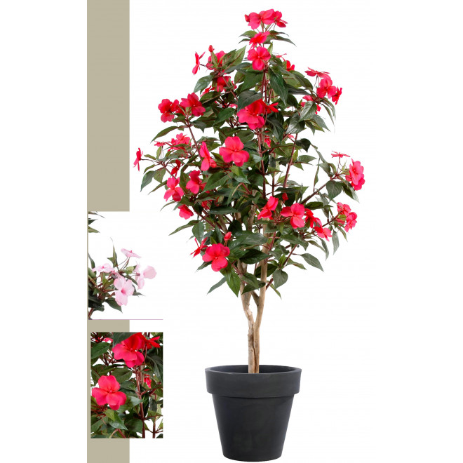 IMPATIENS artificiel ARBRE  110 cm