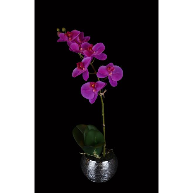 phalaenopsis ORCHIDEE artificielle 45 cm en pot
