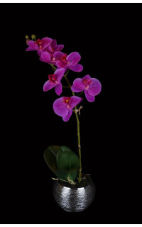 phalaenopsis ORCHIDEE artificielle 45 cm en pot