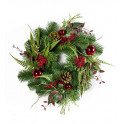 couronne de SAPIN artificielle 40 cm