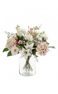 bouquet artificiel pastel 65 cm