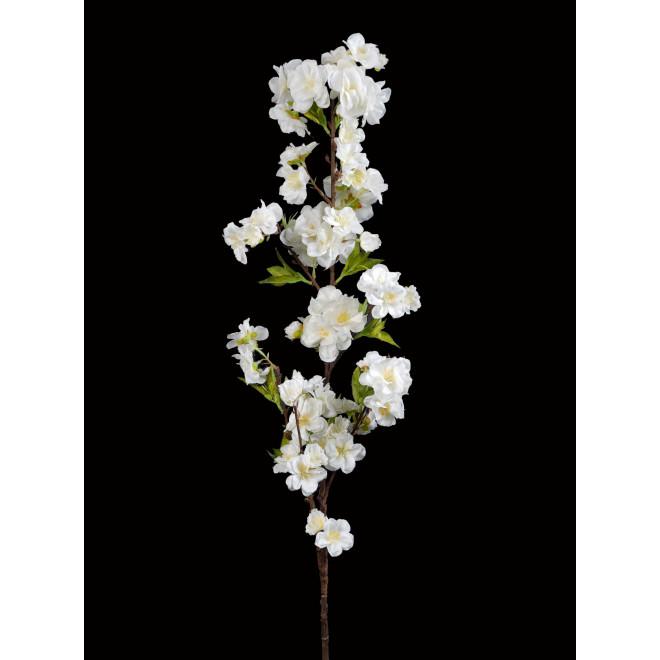 Branche de CERISIER 100 cm blanc